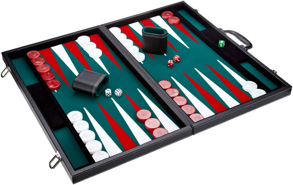 Turnierkoffer Backgammon