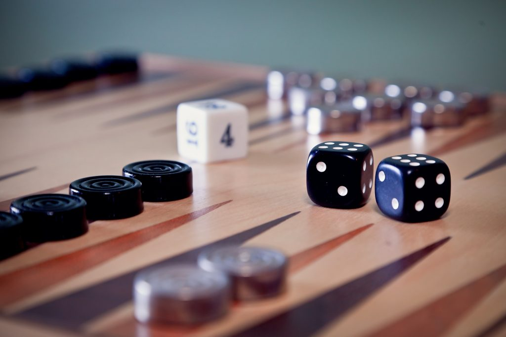 Backgammon Dopplungswürfel