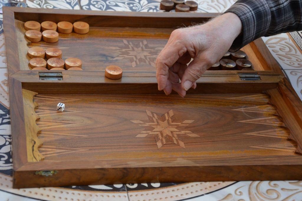 Backgammon Holz Orientalisch