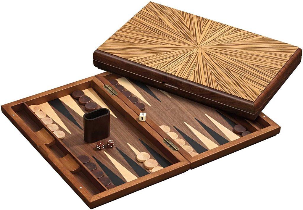 Backgammon mit Magnetverschluss